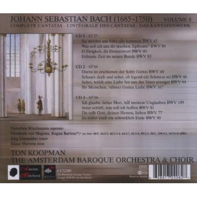 Cantata BWV 109 - Details & Discography Part 1: Complete